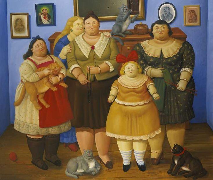 Fernando Botero, le opere - Le sorelle