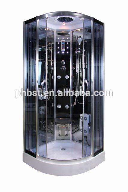 Source Luxury steam shower cabin sauna room with body massage on m.alibaba.com
