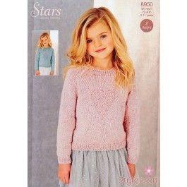 Sweaters in Stylecraft Stars DK (8950) £2.99