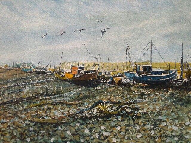 Hastings fishing fleet.
