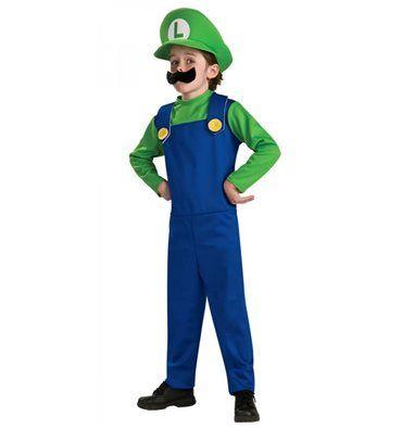 #Costume #Luigi #SuperMario Bros #Bambino