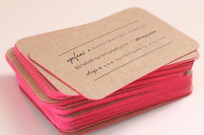 Buisness Cards - Ayofemi Design