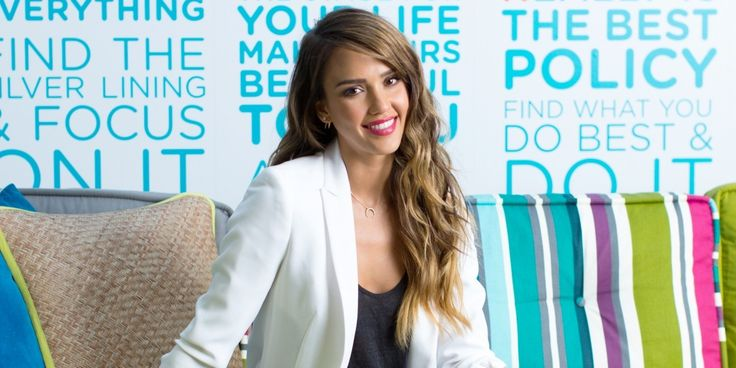 We first got a peek at Jessica Alba's design style when we saw pics of her gorgeous home. And it seems that eco-fabulous good taste is something she's carried with her into the business world.