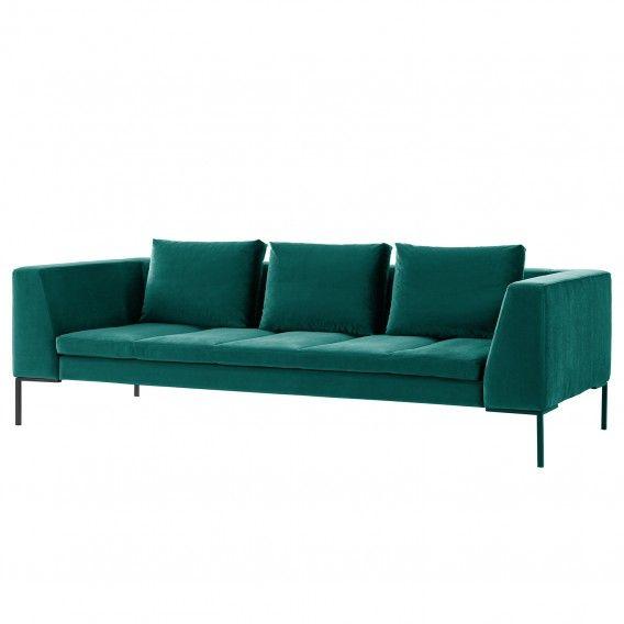 Sofa Madison 3 Sitzer Samt Sofas Sofa Und Couch Mit Schlaffunktion