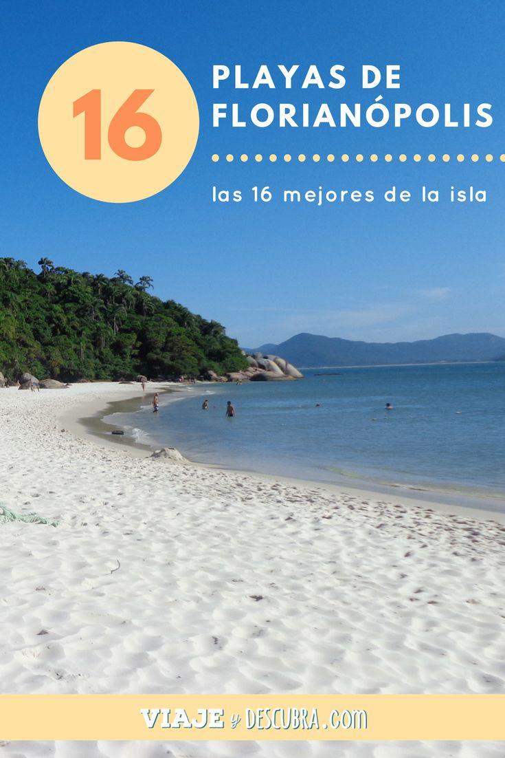 Las mejores playas de Florianópolis, una selección del top 16, ¡no te las pierdas!    https://viajeydescubra.com/2016/10/29/top-16-las-mejores-playas-de-florianopolis/