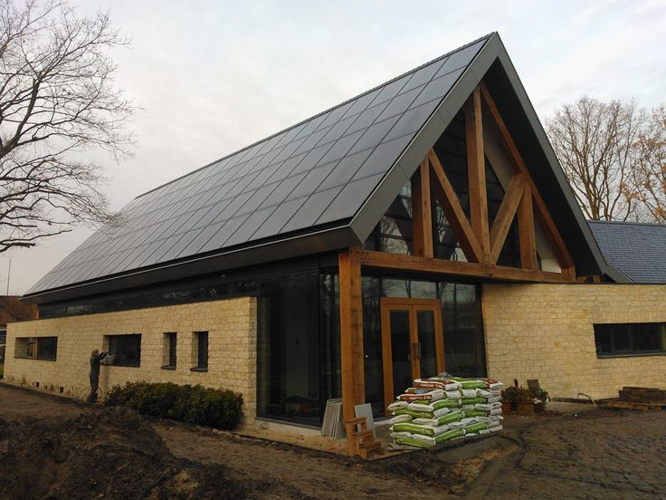 Dunne film zonnepanelen volledig geïntegreerd in Prinsenbeek