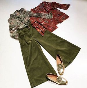 Wait and See presents  SOHO DE LUXE shirt SAMUJI trousers PDR top BESPOKE ANTHOLOGY shoes