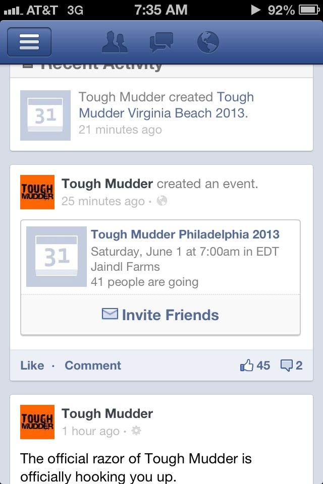 Facebook Tests Mobile Event Invite Button For Timeline  Facebook