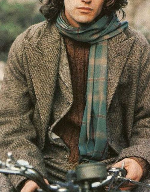 layers of wool tweed and wool
