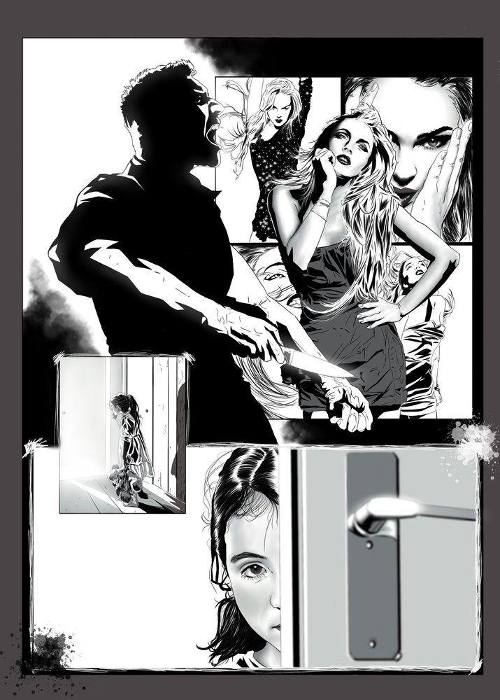 SECUENTIAL ART SAMPLE por M-HACKER-A - Otros   Dibujando.net