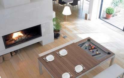 Tavoli da gioco, per trasformare il soggiorno in un luogo divertente - Scopri i tavoli da gioco, che possono trasformare il tuo soggiorno in un luogo divertente: calcio balilla, biliardo, ping-pong o poker, i complementi giusti per un ambiente living originale.