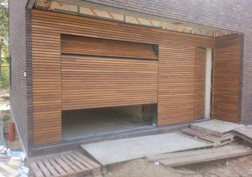 Afrormosia-houten-sectionaal-deur-voordeur-gevel
