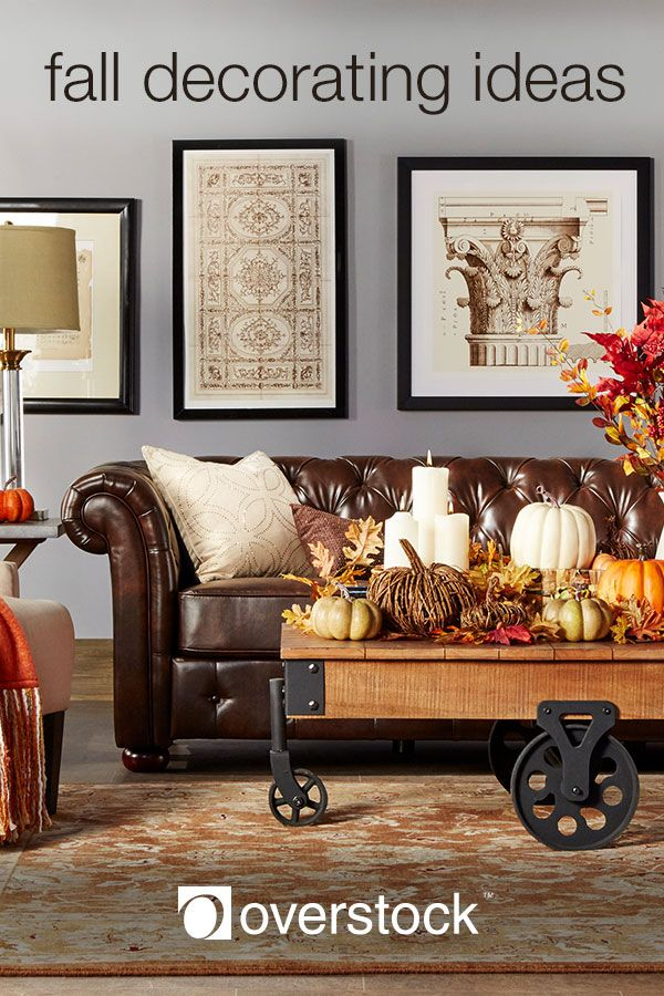 Cozy fall decorating ideas for your home