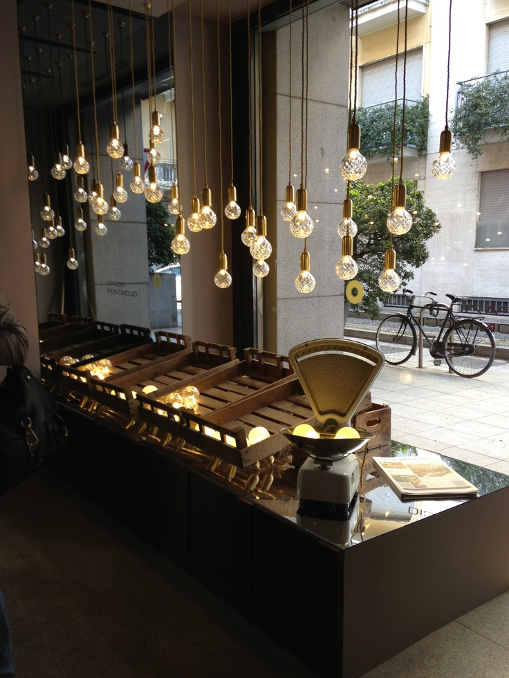 The 2013 Salone Del Mobile In Milan. From Lee Broom´s Popup Shop.