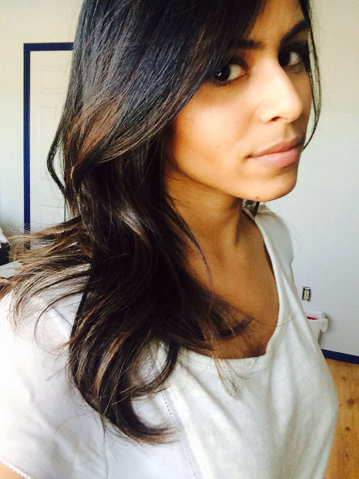 Low Light Brown Ombre On Dark Indian Hair No Regrets ️