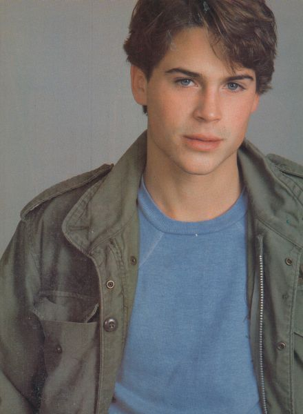 Rob Lowe Young | ROB LOWE pinup – YOUNG JUSTICE CAPTAIN MARVEL ZTAMS