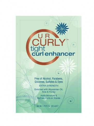 U R Curly Tight Curl Enhancer 1 75 Oz 02 Natural Hair