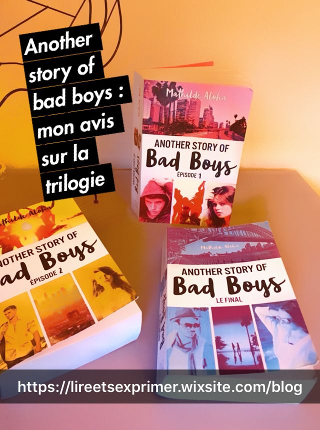 Another Story Of Bad Boy Tome 2 Pdf : another, story, Another, Story, Trilogie), Trilogie,, Mauvais, Garçon,, Livre