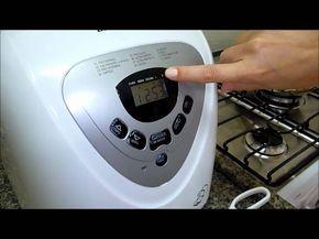Como fazer pão do Outback em casa com maquina de fazer pão