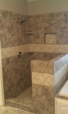 Diamonds master bathroom ideas shower cubicles walk - Best place to buy bathroom tiles ...