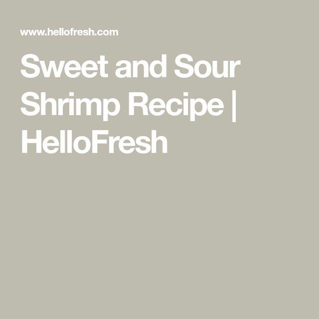 Sweet and Sour Shrimp Recipe   HelloFresh