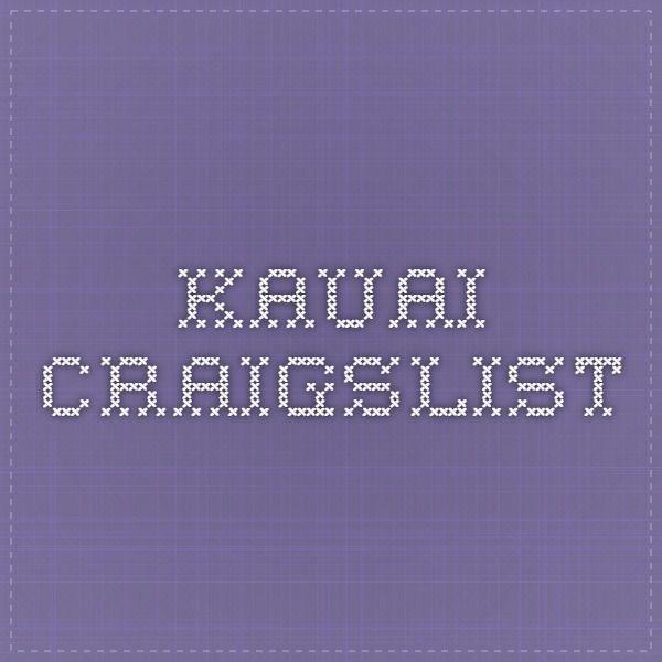 Craigslist Maui Jobs, Craigslist Kauai Furniture