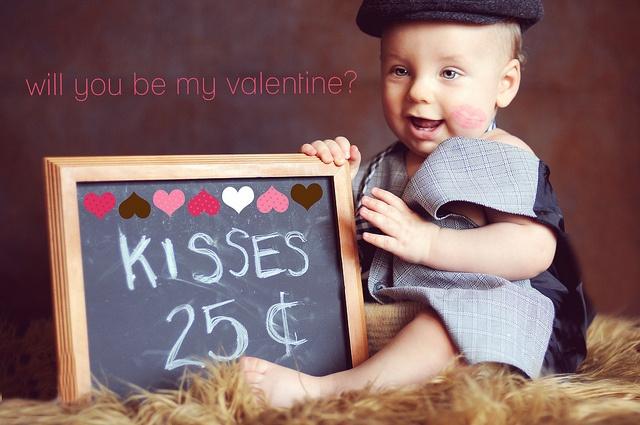 chalkboard - kisses