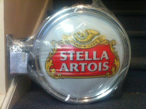 Hw3202 Stella Artois Beer Vintage Bar Neon Hairline Light Signs