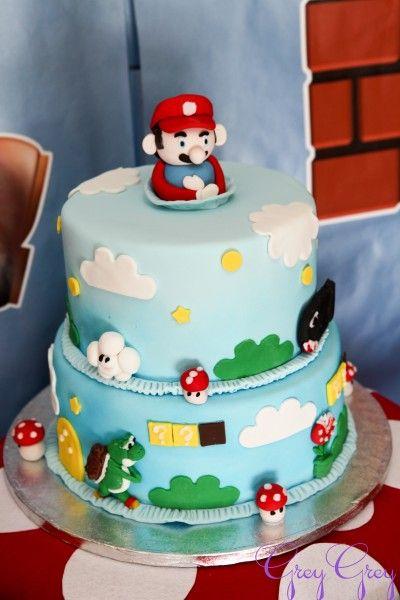 Cake súper Mario