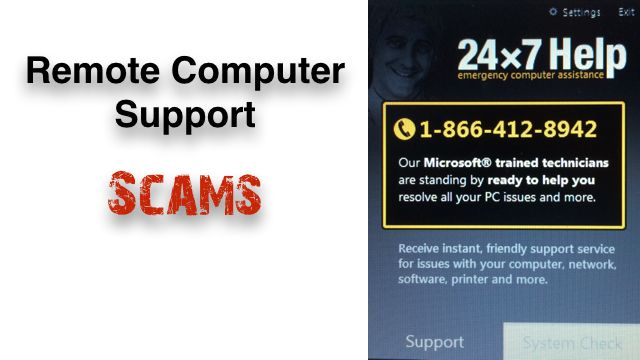 Advanced Tech Support Computer Service Remote Assistance Scam Fraud 800-978-4501 http://www.resourcesforlife.com/docs/item8905