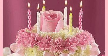 birthday cake, animated birthday greetings, animated cake, Happy Birthday