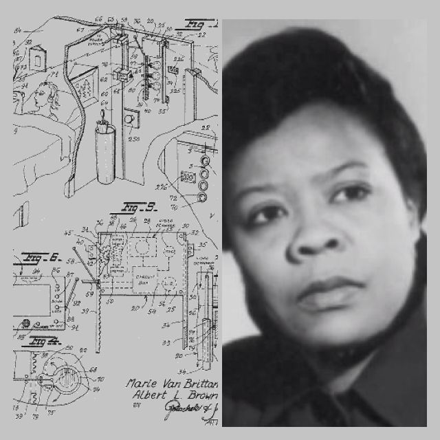 In 1966 the idea for a Home Surveillance System was invented by Marie Van Brittan Brown her partner Albert Brown (they applied for a Patent for the 1st Closed Circuit TV Security System (forerunner to the modern home security system). Ms Brown's system ha