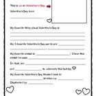 """This simple page is terrific for capturing students' """"love"""" of Valentine's Day!  Print  onto card stock and have each student: draw a picture or pa..."""