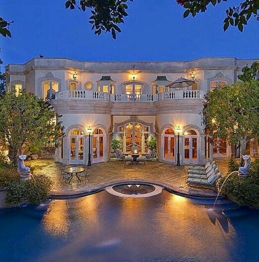 California Big Houses With Pools: 17 Best Images About California Spanish Homes On Pinterest