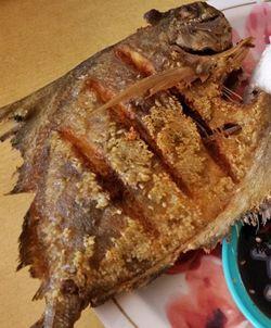 [Resep] Bawal Goreng Sambal Bawang Pedas http://www.perutgendut.com/read/bawal-goreng-sambal-bawang-pedas/1078 #Resep #Food #Kuliner #Indonesia