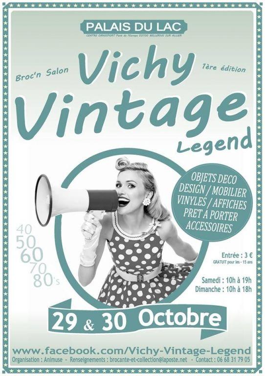 Vichy Vintage Legend, Vichy (03200), Allier