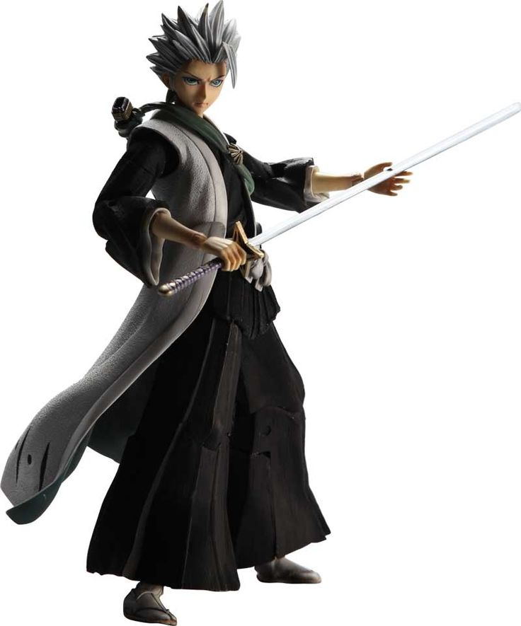 Bleach: Toshiro Hitsugaya Play Arts Kai Action Figure, Bleach, Cosplay Toys & Figures