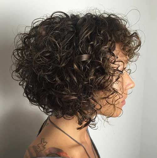 15+ pictures of short curly hairstyles for women