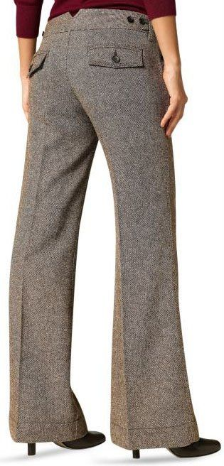 Beautiful Skinny Innovator Gray Cotton Dress Pant