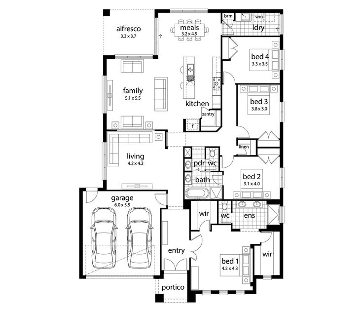 14 best future home floorplan images on pinterest floor plans hartley inspirations series home designs by dennis family homes home designcrosswordfamily malvernweather Choice Image