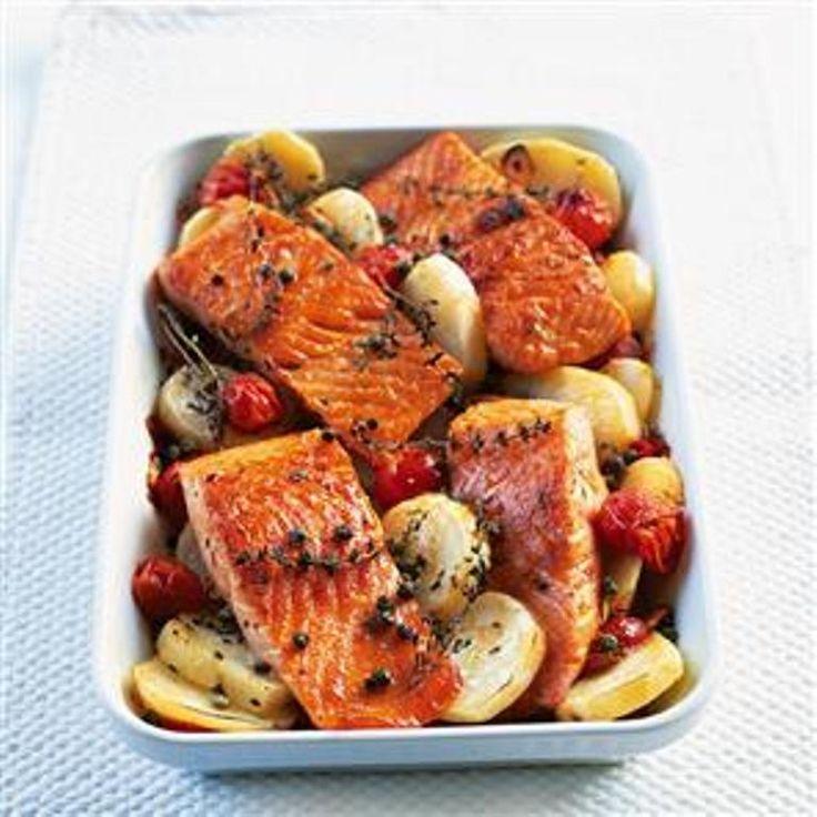 Με όλο και περισσότερους φίλους μας να κόβουν σιγά σιγά το κρέας από την διατροφή τους, και με εμάς τους ίδιους να έχουμε μπει σε πρόγραμμα πιο υγειινής διατροφής, μπήκα στην διαδικασία να αρχίσω να περιαματίζομαι με συνταγές για ψάρι.