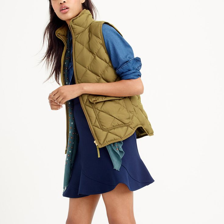 Excursion quilted down vest : outerwear | J.Crew