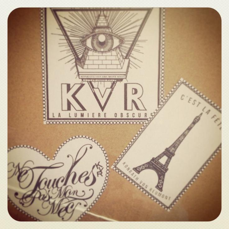 La lumiere obscure #KvR sticker design for #konrathvonreumont.com #konrathvonreumont #freemasons