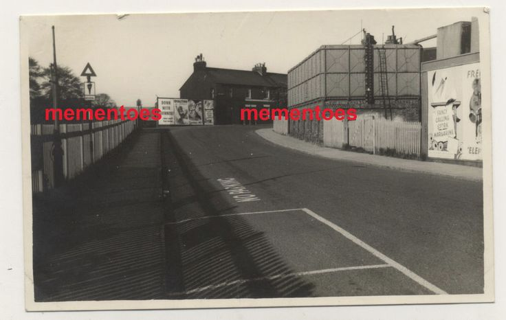 Lewes Sussex c1940s WWII RP Postcard Station Approach Street Scene