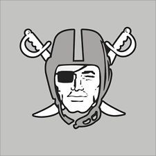 raiders stickers for cars | Oakland Raiders Emblem