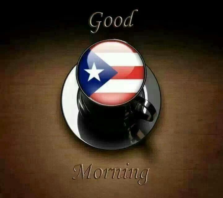 Good Morning In Puerto Rican Spanish : Best images about cafe con leche on pinterest san