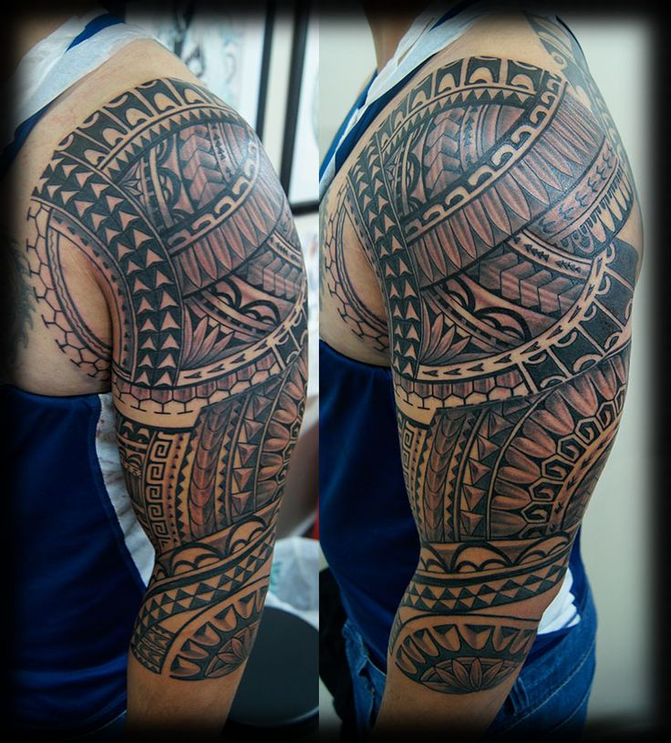 Best Polynesian Tattoo Designs Ideas: This Was Done By Tattoo Artist Tavita Mose Who Works For