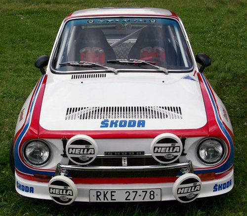 Skoda 130RS Rally Car