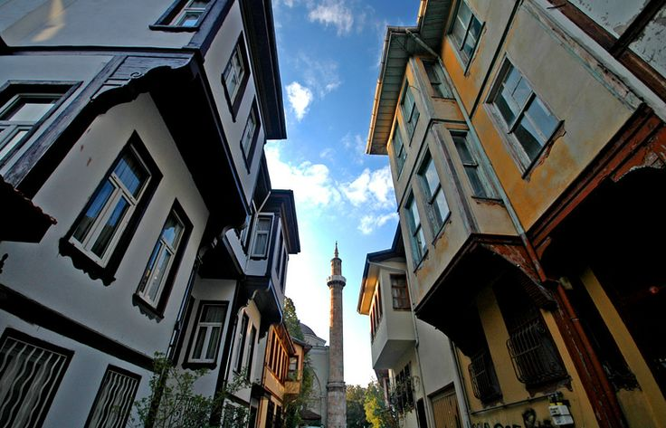 Bursa mansions.