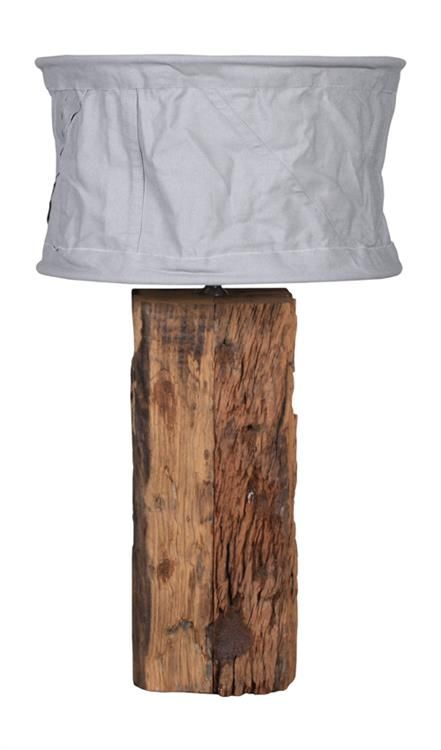 Products details - Lighting - Lampbase railwaywood small
